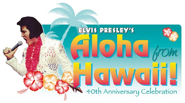 Gordon Hendricks Elvis Aloha from Hawaii