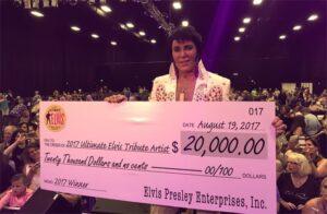 Gordon Hendricks Wins 2017 Ultimate Elvis